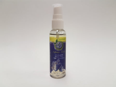 <b><u>Shoes Miyo - 60ml</u></b> -Neutralize bad odor from shoes, boots, sandals & socks with added delicate fragrance essence for a refreshing around the clock scent. Protect shoes and socks from bed odors for 12 hours.