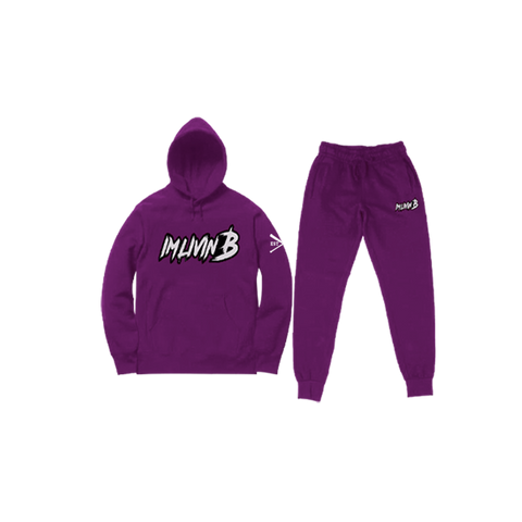 """Echelon"" Unisex Jogger Suit (Magneta Purple) READ DESCRIPTION BEFORE ORDERING"
