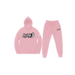 """Echelon"" Unisex Jogger Suit (Baby Pink) READ DESCRIPTION BEFORE ORDERING"
