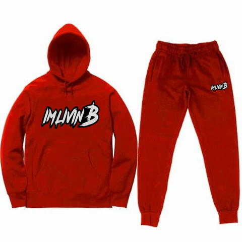 """Echelon"" Unisex Jogger Suit (Red) READ DESCRIPTION BEFORE ORDERING"