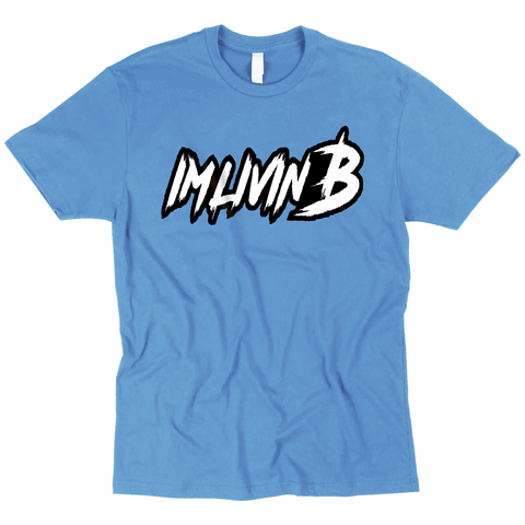 3D Ruff Logo T Light Blue (Unisex)