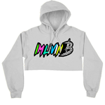 Crop Enormous Hoody (White)
