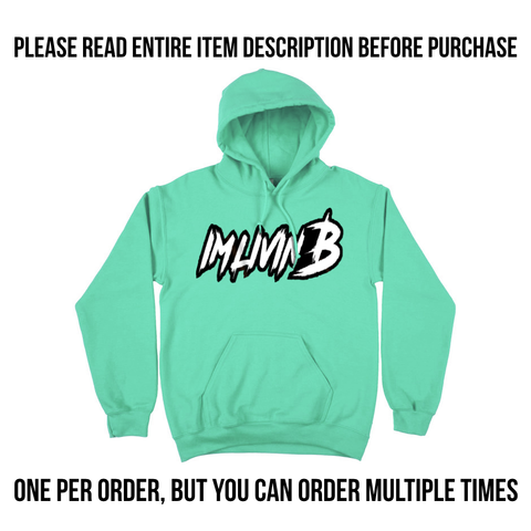 Flash Sale Unisex Hoody (Peppermint) ships in 1-3 days