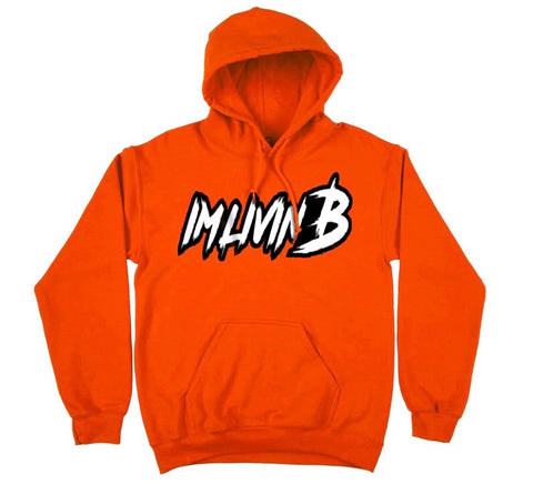 3D Ruff Logo Hoody (Orange Crush)