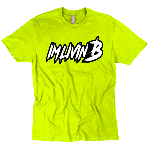 3D Ruff Logo T (Safety Green)