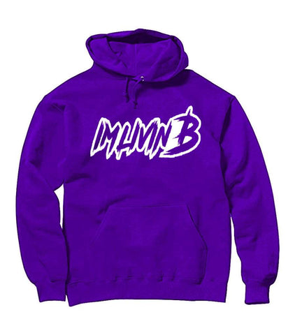 Ruff Logo Hoody (Purple)