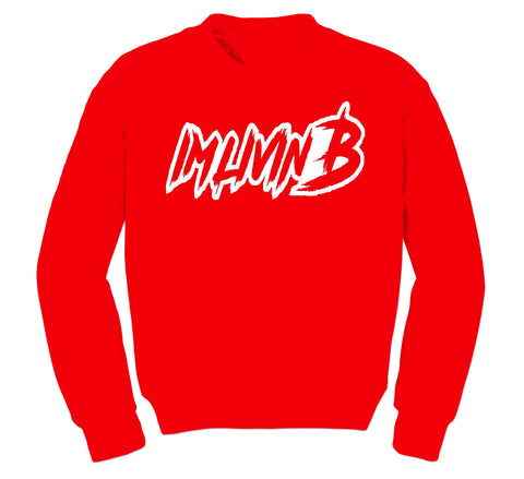 3D Ruff Logo Crewneck Sweatshirt (Red)