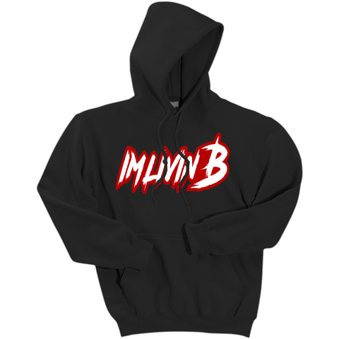 3D Ruff Logo Hoody (Black w/Red & White Logo)