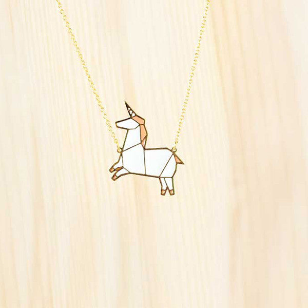Hug A Porcupine Necklace – Unicorn