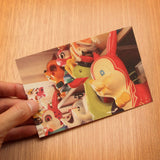 Kiddy Ride Postcard - Set of 9