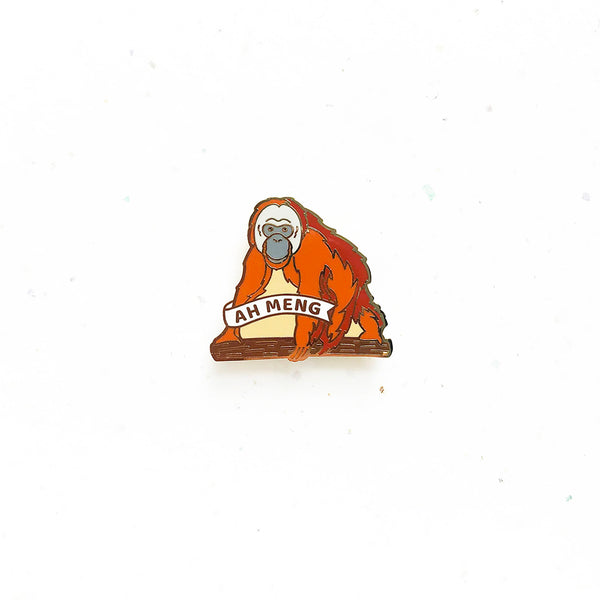Everyday SG Pin – Ah Meng the Orangutan