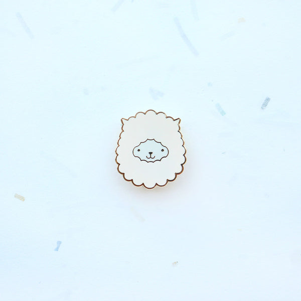 Dröm Pin – Alpaca Head