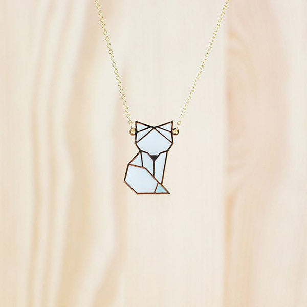 Hug A Porcupine Necklace – Arctic Fox