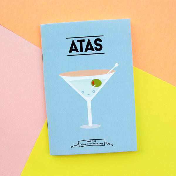 Strangely Singaporean Notebook – Atas