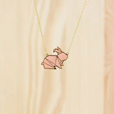 Hug A Porcupine Necklace – Bunny
