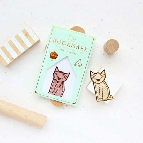 Hug A Porcupine Bookmark – Cat