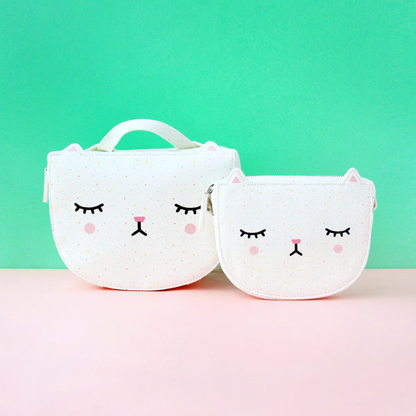 Polkaros Sling Bag - Cat