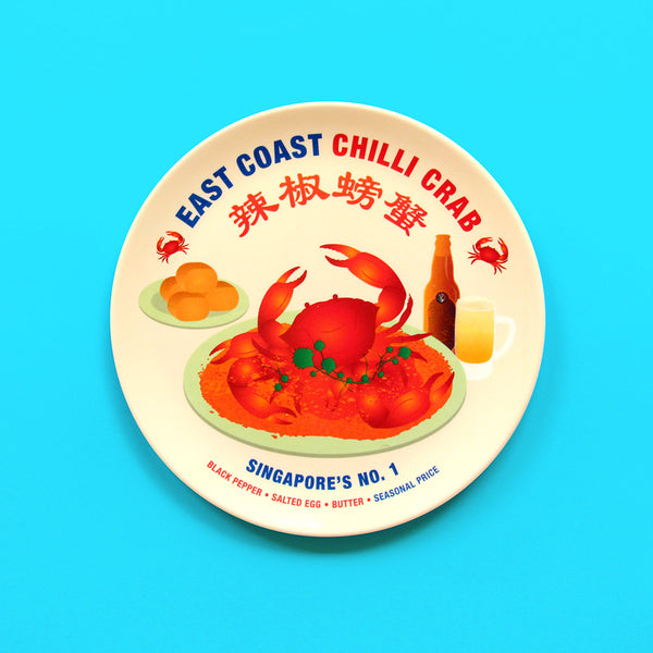 Makan Plate – East Coast Chilli Crab