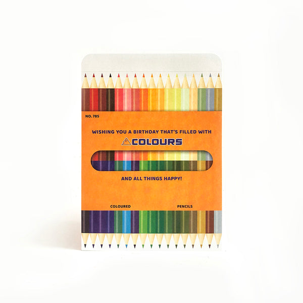 Birthday – Color Pencils