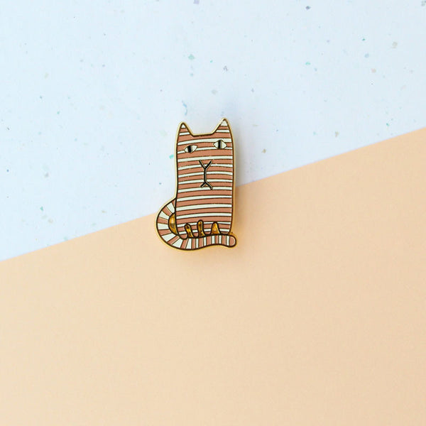 Donna Wilson Brooch – Ginge & Mono Cat