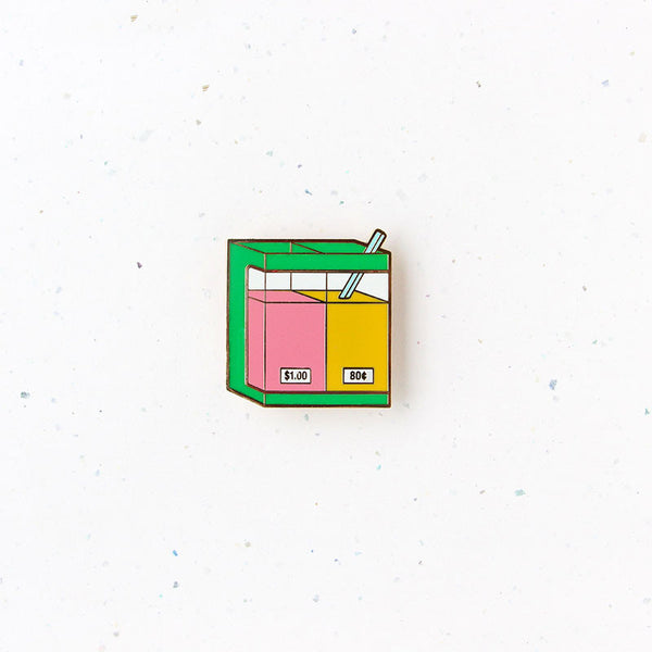 Kopitiam Brooch – Drinks Container