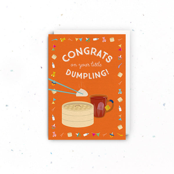 Congratulations (New Baby) – Dumpling
