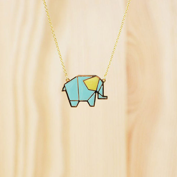 Hug A Porcupine Necklace – Elephant