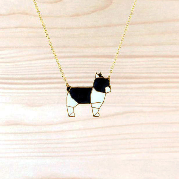 Hug A Porcupine Necklace – French Bulldog