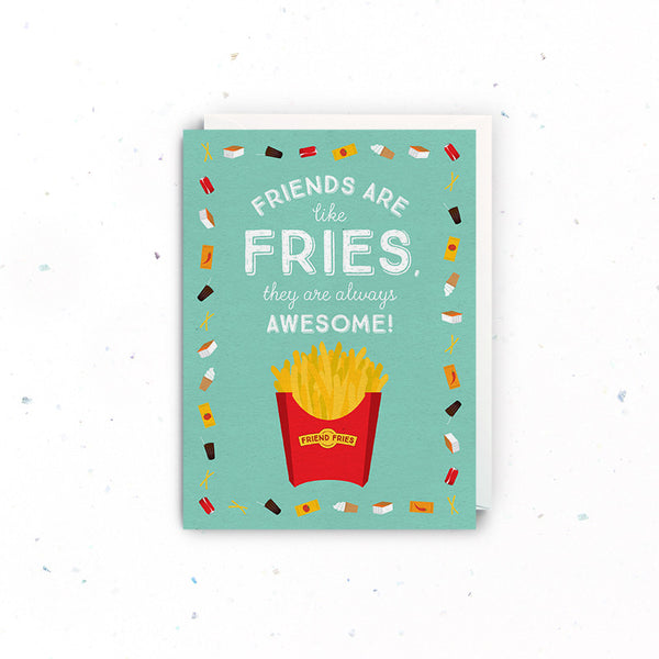 Singapore Greeting Cards – Friendship (Friend Fries)