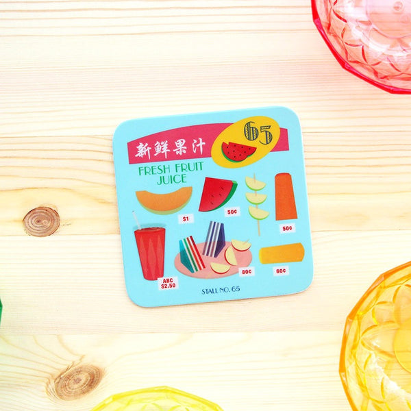 Makan Coaster – Fresh Fruit Juice