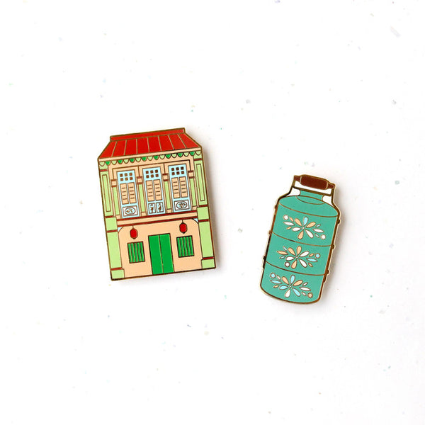 Treasures of SG Magnet – Shophouse & Tiffin Carrier