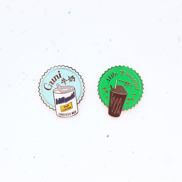 Kopitiam Magnet (Set of 2) – Milo Dinosaur & Condensed Milk