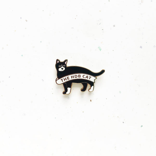 Everyday SG Pin – HDB Cat