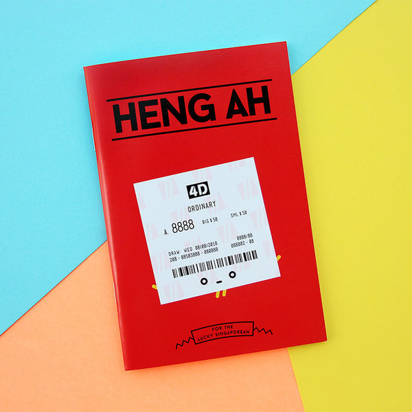 Strangely Singaporean Notebook – Heng Ah