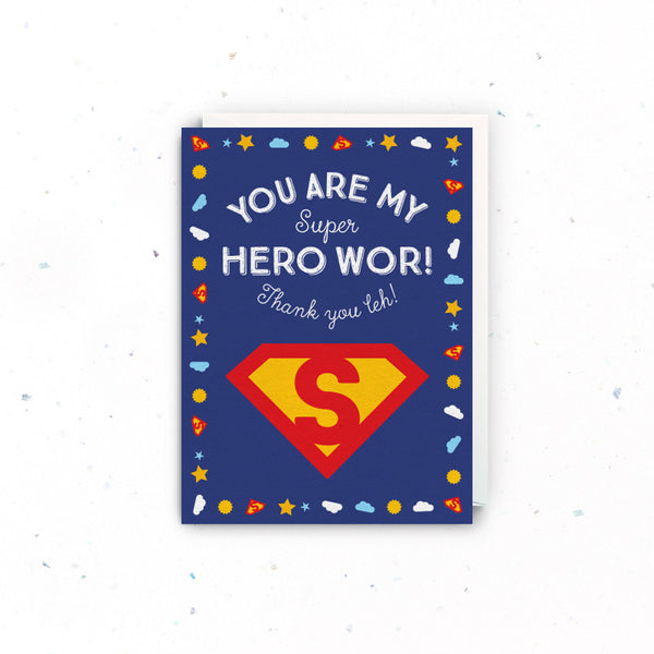 Thank you – Super Hero