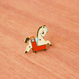 Kiddy Ride Pin - Horse