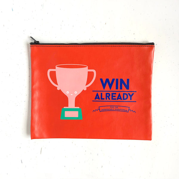 Strangely Singaporean Pouch – Win Already