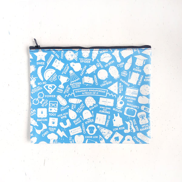 Strangely Singaporean Pouch – All in One Print