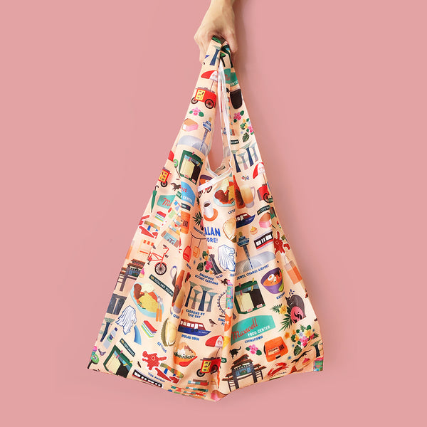 Shopper Bag - Let's Jalan in Singapore