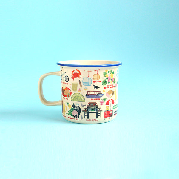 Ceramic Mug – Let's Jalan in Singapore