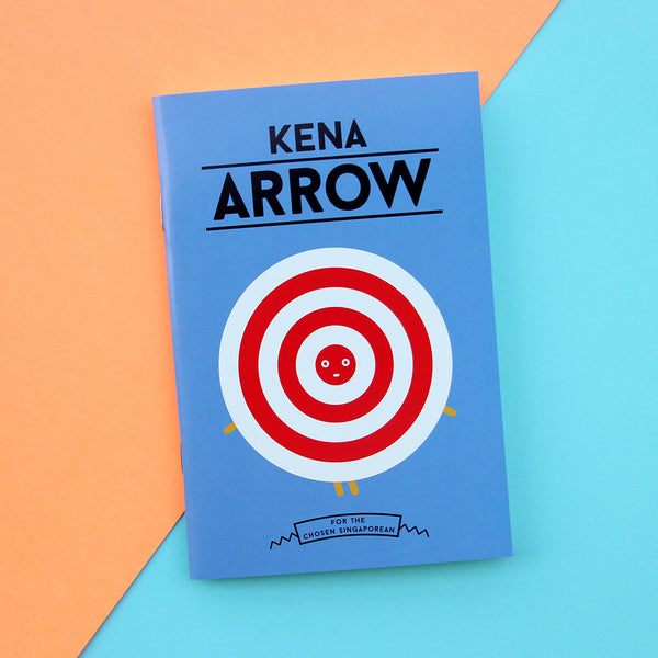Strangely Singaporean Notebook – Kena Arrow