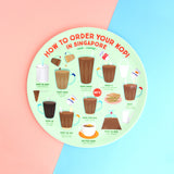 10 Inch Plate – How to order your Teh