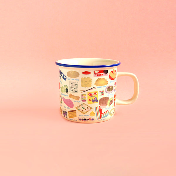 Ceramic Mug – Kueh & Snacks