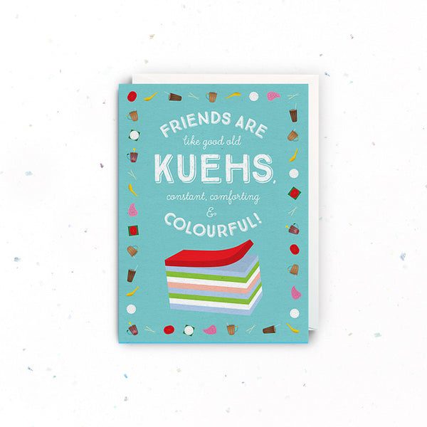 Singapore Greeting Cards – Friendship (Kueh)