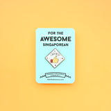 Strangely Singaporean Pin – Lagi Best