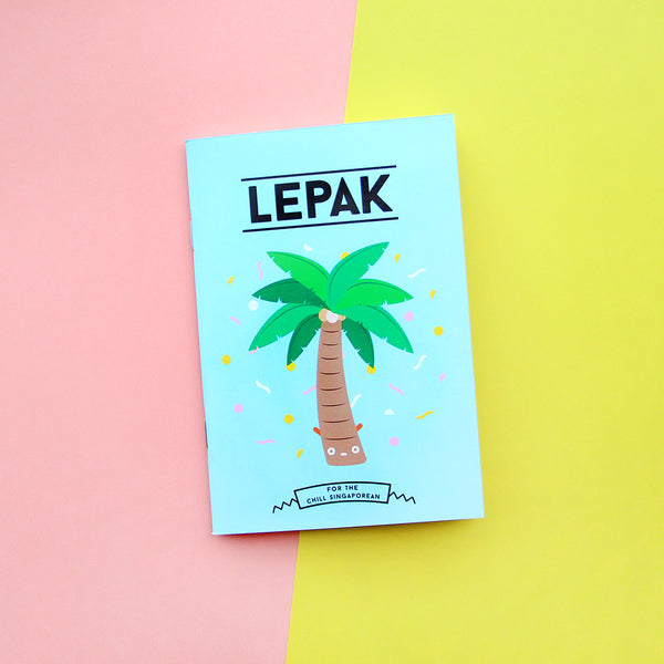 Strangely Singaporean Notebook – Lepak