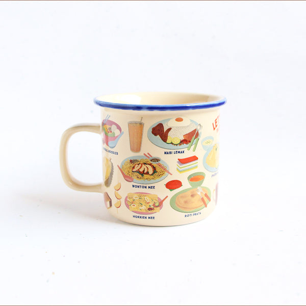 Ceramic Mug – Let's Makan