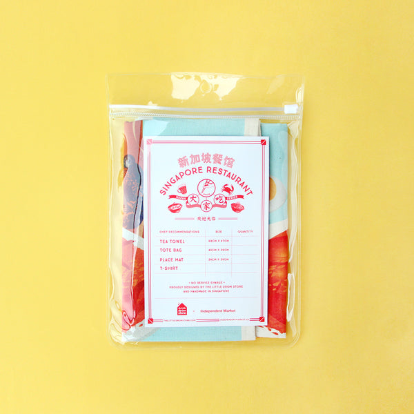 Tea Towel – East Coast Chilli Crab