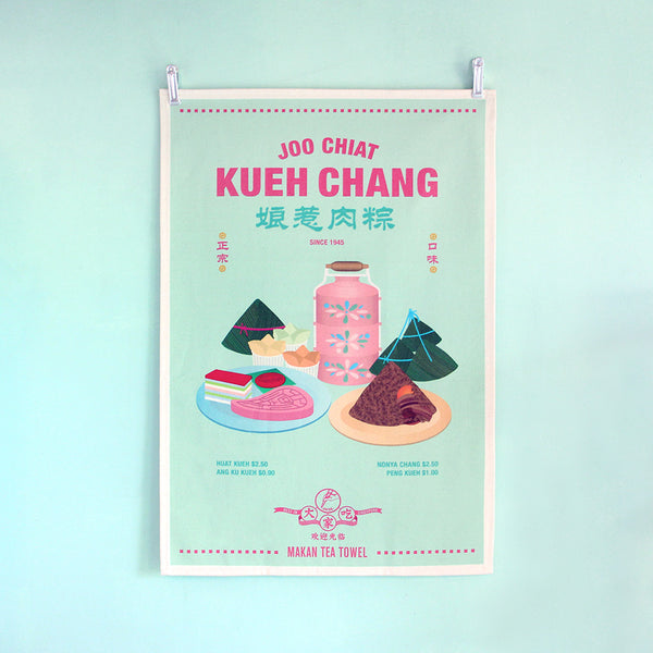 Tea Towel – Joo Chiat Kueh Chang