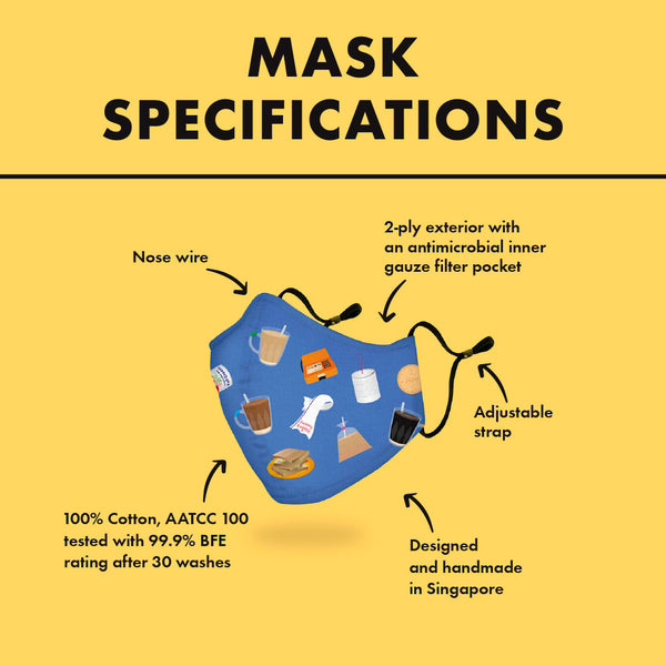 Mask - Animals of Singapore